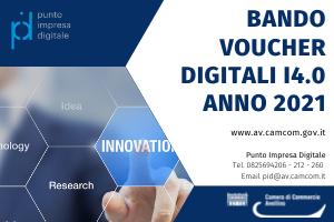 Bando voucher digitali I4.0 anno 2021